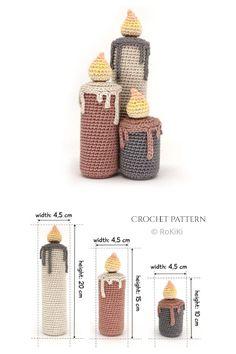 Crochet Christmas Ornaments, Holiday Crochet, Christmas Knitting, Crochet Home, Crochet Crafts, Crochet Santa, Crochet Birds, Amigurumi Patterns, Crochet Patterns