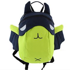 Sale 21% (17.67$) - 2016 Children 3D Cartoon Canvas Backpack Kids Waterproof Zipper Bag Fashion Light Schoolbag