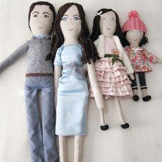 Oliver and Adelaide: Bespoke Family Portrait Dolls
