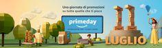 Amazon annuncia il Prime Day con sconti ogni cinque minuti -