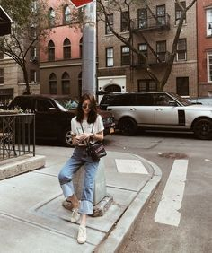 💙 Look at that outfit! 💙 How many stars would you rate it? Rate fashion and get feedback on your style from all over the world 🌎 The Korean Girl Fashion, Korean Fashion Trends, Korean Street Fashion, Portrait Photography Poses, Photography Poses Women, Fashion Photography, Best Photo Poses, Girl Photo Poses, Ootd Poses