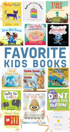 Our toddler's favorite books | these are our favorite children's books