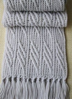 Мужской шарф спицами Red Heart Patterns, Knitting Patterns, Knitting Stitches, Hand Knitting, Crochet Motif, Knit Crochet, Cowl Scarf, Double Knitting, Knitting
