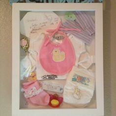 I love this idea for my newborns stuff..
