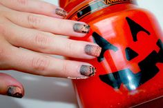 ✝ Halloween Nailstorming by diamant sur l'ongle