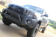 Avid tacoma front bumper guard truck stuff pinterest toyota avid off road light bar mozeypictures Images
