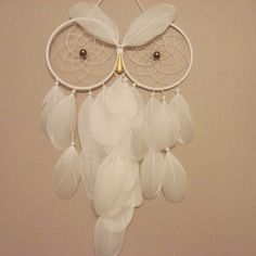 Attrape rêves dreamcatcher chouette hibou