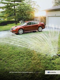 Subaru Legacy: Respect (fountain)