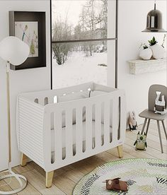 The Harmony Single Collection is characterized by its originality and sharp modern design.  This crib will not go unnoticed. Designed especially for those seeking baby products with exceptional features, quality and most importantly, safety. A unique modern baby crib designed and manufactured in Valencia, Spain. This crib can easily evolve from crib-to-twin size bed as your child grows.