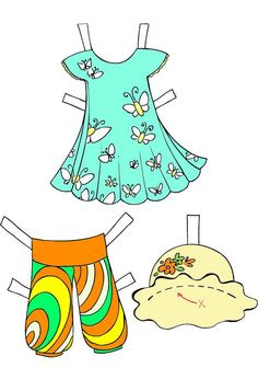 Paper doll for kids with Down syndrome 1 paper by RealWorldKids