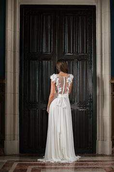 Patterns for dresses have designed by professional designer. The dress has a perfect fit, you'll be gorgeous in it. Being soft and romantic, it has made for a bride who dreams about her individuality, beauty and comfort. Your wedding style becomes realy unique with the bohemian wedding dress from Mary Sten.  #weddingdress #weddingshoppingdresses #bridedress #rochii de mireasă #rochii la comandă #bridelove #weddingdress2019