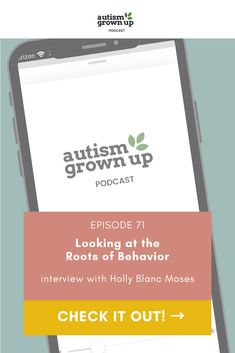 "Holly Blanc Moses is a Board Certified Behavior Analyst, Licensed Psychological Associate, and Licensed Professional Counselor with 17 years of experience in applied behavior analysis and behavior therapy. In today's episode we'll be covering how we can redefine what we often say is ""challenging behavior"", how language and discussions can lead to internalizing negative self-beliefs in many autistic individuals, and where we can get started today. #autism #behavior Autism Resources, Life After High School, Behavior Analyst, Plan For Life, Sensory Tools, Applied Behavior Analysis, Autism Parenting"
