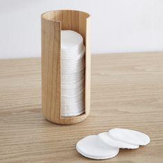 pot à coton bambou