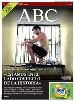 La portada de ABC del jueves 20 de agosto