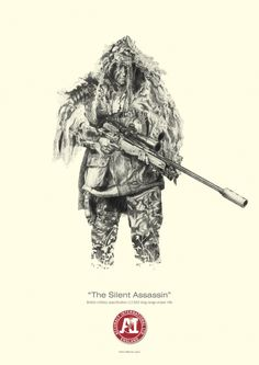 Accuracy International - The silent killer poster