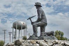 Miner in Webb City King Jack Park.
