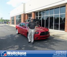 #HappyAnniversary to Ralph Mclaughlin on your 2013 #Dodge #Charger from James Hokanson at Wolfchase Chrysler Jeep Dodge!