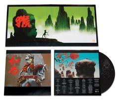 Monkey Journey From The West / Jamie Hewlett #fumetto #illustrazione #arte #musica #package