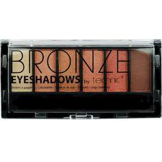 Η Technic Bronze 6pc Eyeshadow είναι μία κασετίνα σκιών, που περιλαμβάνει 6 ζεστές αποχρώσεις. Ξεχωρίζουν για την ματ υφή τους , που δίνει ένα τέλειο φινίρισμα στο μακιγιάζ των ματιων σας. Η κασετίνα περιέχει και πινελάκι εφαρμογής διπλής όψης.Περιεχόμενο: 6 X 1.2g