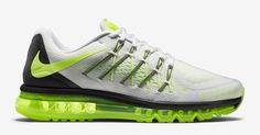 This new Volt colorway of the Nike Air Max 2015 is available now at select Nike retailers.