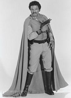 Billy Dee Williams as Lando Calrissian from Star Wars Return Of The Jedi Ewok, Chewbacca, Halloween Character Ideas, Star Wars Episode 6, Billy Dee Williams, Tribal Warrior, Lando Calrissian, Galactic Heroes, War Film