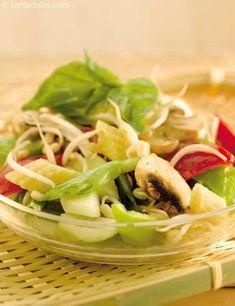 Baby Corn and Mushroom Salad