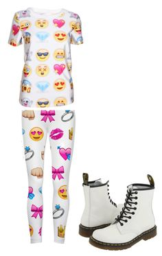 team emoji by jsf2004 on Polyvore featuring Dr. Martens