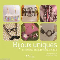 Livre Bijoux uniques créations en plastique dingue - Photo n°1