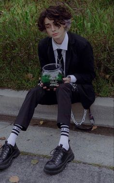 Aesthetic Hair, Aesthetic Grunge, Aesthetic Clothes, Beautiful Boys, Pretty Boys, Beautiful People, Grunge Guys, Grunge Hair, Androgynous Hair