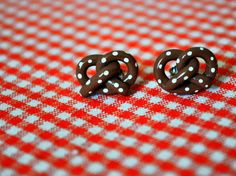 @Jazo Brooklyn Pretzel Earrings by DarlingDearShop on Etsy, $5.50