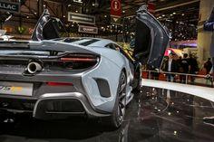 McLaren 675LT - Live in Geneva  - RoadandTrack.com
