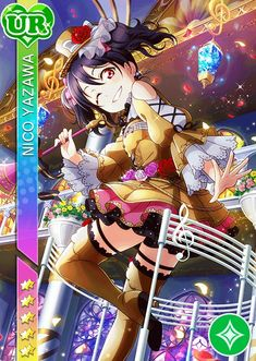 #1419 Instrument UR Nico Yawaza  idolized ver