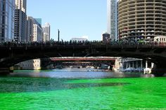 Bridges Over Green Water, by Life Through Two Lenses Photography -    March 17, 2012 -    Chicago, Illinois