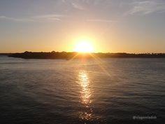 Sunset at Praia de Pipa - Brazil
