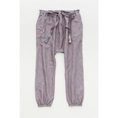 LemLem Mbali Harem Pant ($259) ❤ liked on Polyvore featuring pants, lounge, pink, drop crotch harem pants, pink pants, drop-crotch pants, low crotch harem pants and low crotch pants