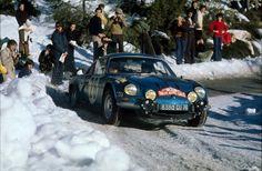 Alpine-A110-Monte Carlo Rally