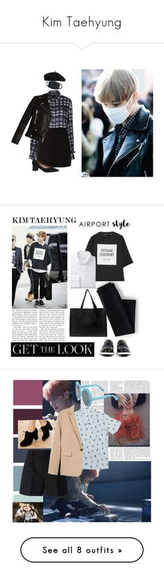 """Kim Taehyung"" by mxbzr ❤ liked on Polyvore featuring Joseph, ROSEFIELD, Givenchy, Acne Studios, Accessorize, Lands' End, Opening Ceremony, Want Les Essentiels de la Vie, Shaffer and men's fashion"