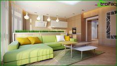 Nappali bútorok, modern stílusban - a legjobb 80 fotót ötletek