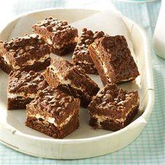 Chocolate Crunch Brownies Recipe