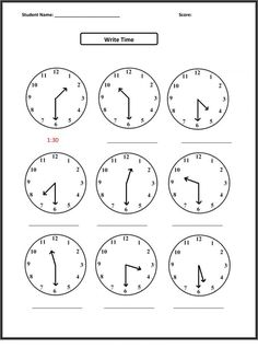 Free Math Worksheets First Grade 1 Telling Time Elapsed Time X Hours . 3 Worksheet Free Math Worksheets First Grade 1 Telling Time Elapsed Time X Hours . First Grade Math Activities Telling the Time Half Past 1 First Grade Math Worksheets, Free Printable Math Worksheets, Second Grade Math, Kindergarten Worksheets, Addition Worksheets, Kids Worksheets, Fractions Worksheets, Clock Worksheets, Measurement Worksheets