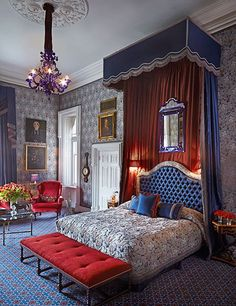 We visit a 13th-century Irish castle turned luxurious hotel. Peek inside!