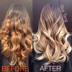High Contrast Ombre and NOT a dip dye ombre