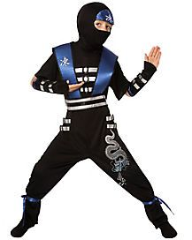 Disguise Shadow Ninjas Night Fury Blackstone Ninja Child Costume Small S 4-6