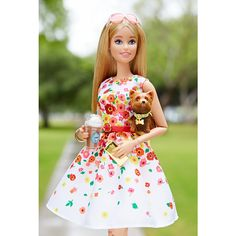 2016 - The Barbie Look™ Barbie® Doll - Park Pretty $29.95``