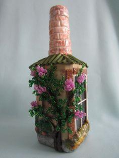 Фотография Diy Crafts Slime, Slime Craft, Clay Crafts, Diy And Crafts, Arts And Crafts, Glass Bottle Crafts, Bottle Art, Shabby Chic Jars, Bottle House