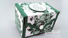 Stampin' Up! Tranquil Tide gift box