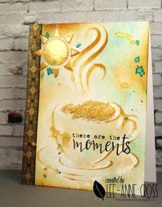 Summer Coffee Lovers Blog Hop using ARTplorations stencils