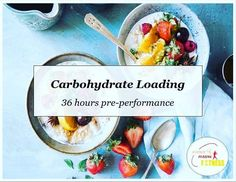 Carb loading is when you increase your intake of carbohydrates in the lead up to a game race or sporting competition. Carb Day, How To Increase Energy, Competition, Low Carb, Medium Long, Game, Healthy Food, Training, Exercise