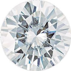 MOISSANITE-LAB / COLORLESS - DEF / Round / 5 mm / FOREVER ONE / Faceted / FOREVER ONE COLORLESS