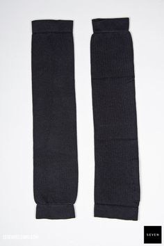 Rick Owens KNIT LEG WARMER - black 69 € | Seven Shop
